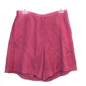 VINTAGE TOMMY BAHAMA Pink Silk High Waisted Shorts